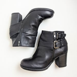TORRID black ankle boots booties women's size 10W